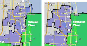 Latest House and Senate Plans Side by Side